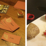 Potato Stampers, Place cards and Powerpoint