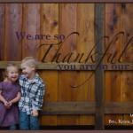 Child-like Thankfulness