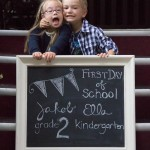 The First Day of School…finally (in pictures)
