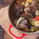 Comfort Food: Baked Lamb with Tomatoes and Rosemary Recipe
